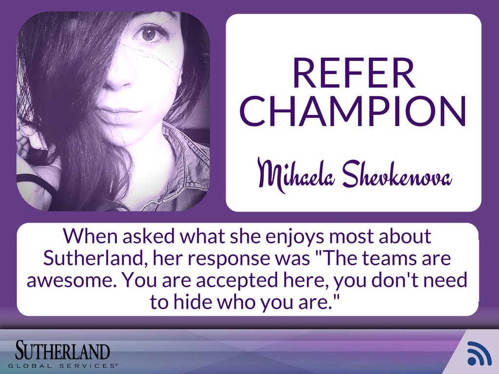 Mihaela Shevkenova refer champion
