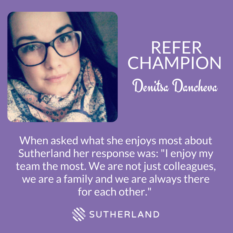 Denitsa Dancheva Refer Champion Sutherland