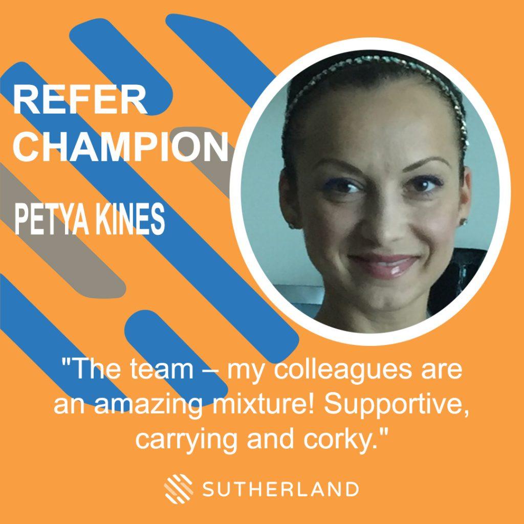 Refer Champion Petya Kines Sutherland