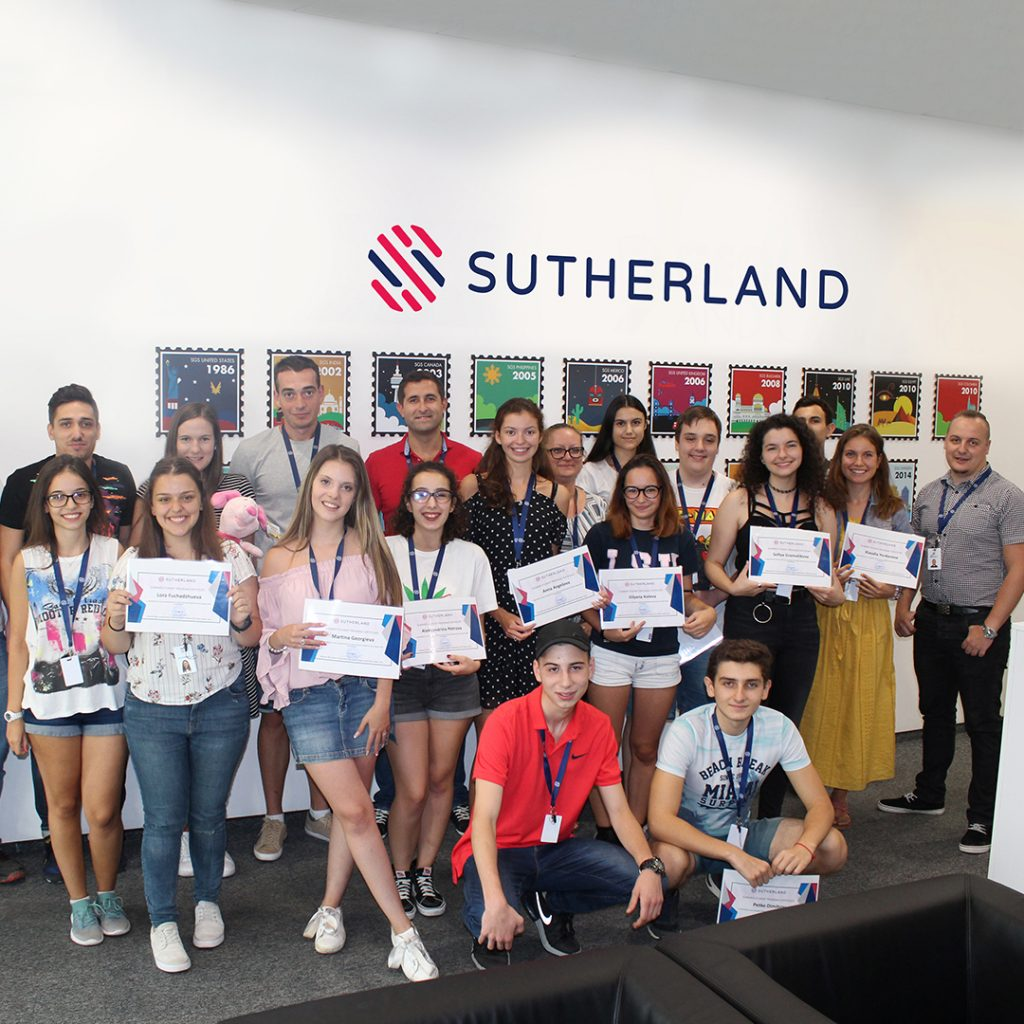 Sutherland Summer Internship Program Burgas