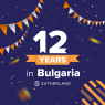 Sutherland celebrates 12 years in Bulgaria