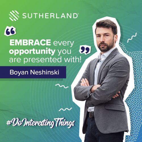 Do interesting things Sutherland